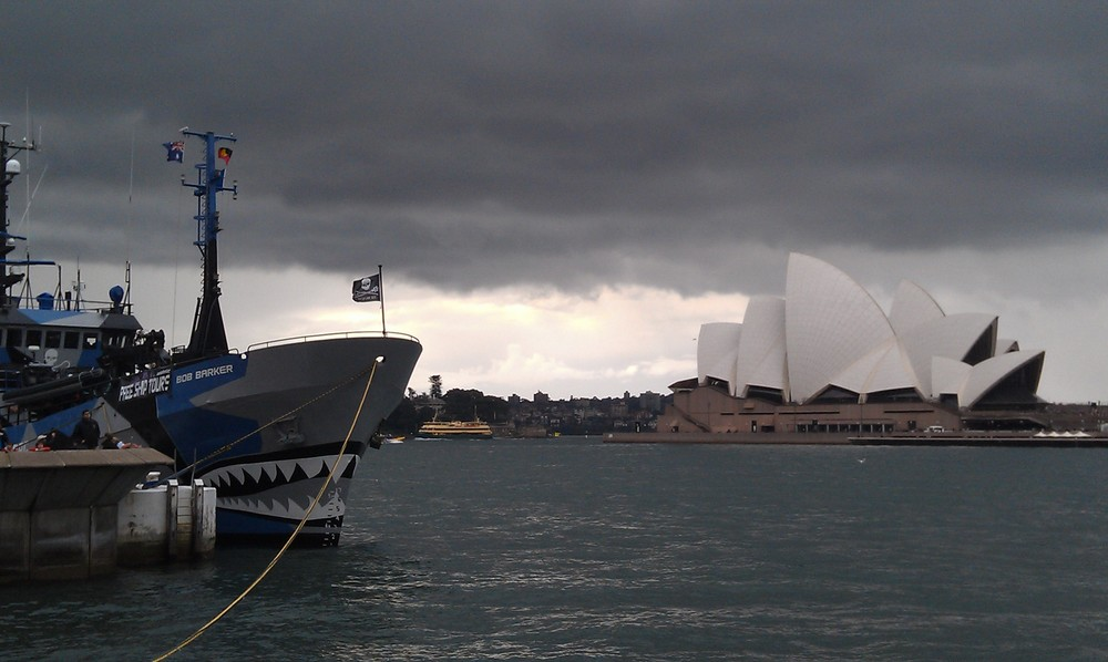 Stormy Sydney Weather