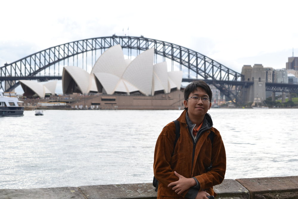 Albert visited Australia in 2014 on a UniBRIDGE Project study tour