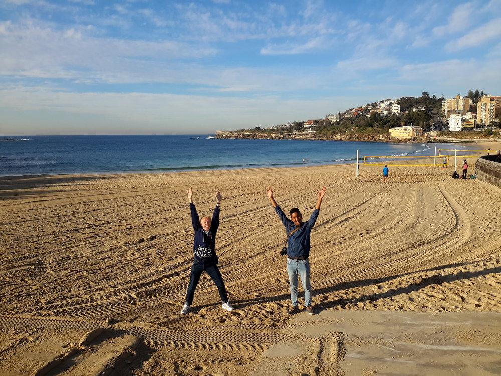 Day 1. Coogee Beach, Sydney, Australia