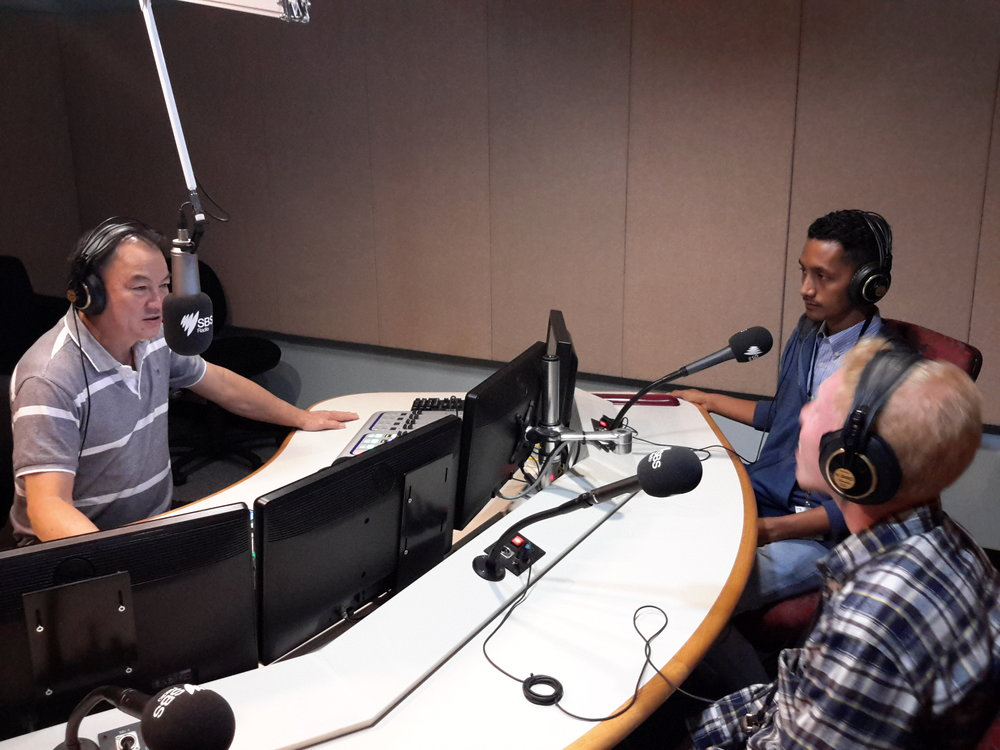 Steven & Qrezpy on SBS Radio Australia