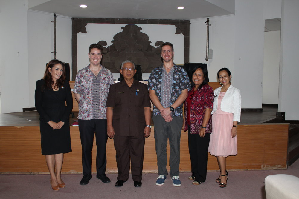 UniBRIDGE Project representatives visit Universitas Pendidikan Ganesha - April 2017