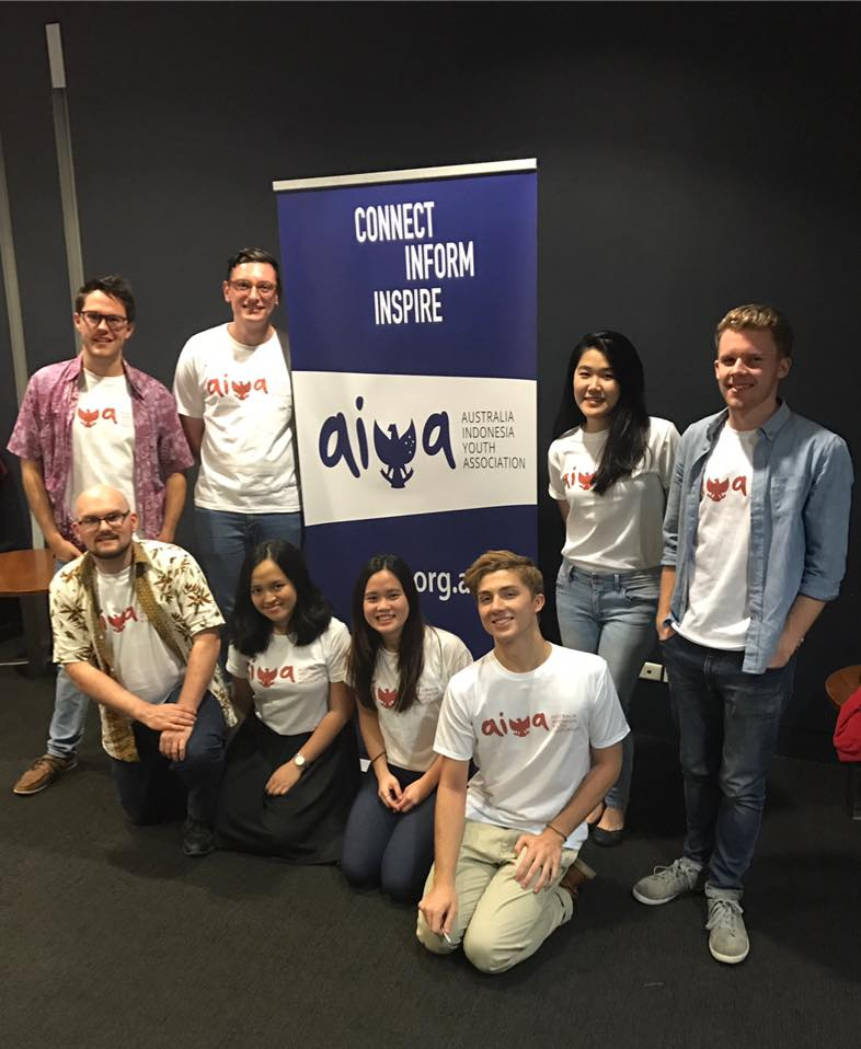 AIYA QLD team at 'Kartini' film screening. Credit - Josephine Scholastica Sheila Hie