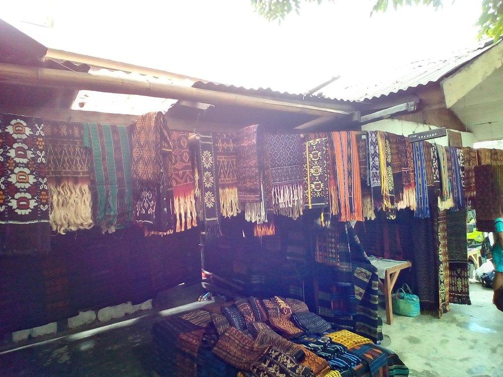 Mbongawani with tenun ikat fabrics - UniBRIDGE