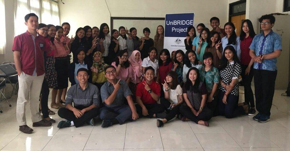 Class at Undiksha, Singaraja, Bali