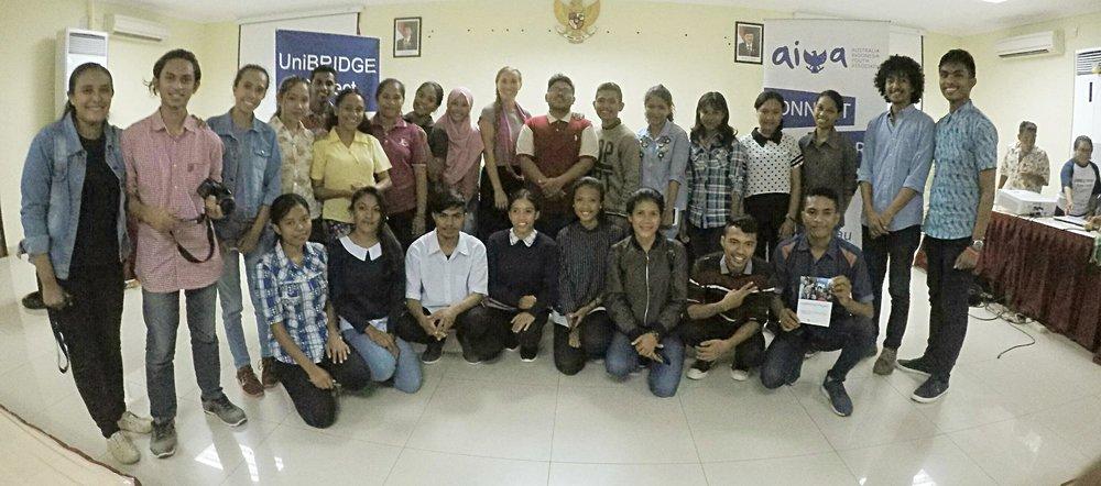 AIYA - UniBRIGDE joint event in Kupang