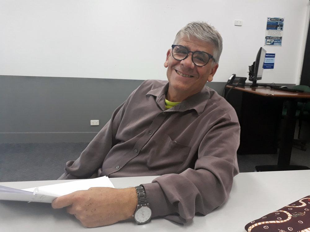 Dr Richard Curtis, Indonesian lecturer at University Sunshine Coast