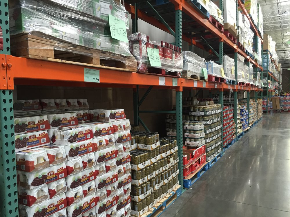 A picture I snapped during a recent visit to Costco.  Nothing stocked on shelves.  Buy it right off the pallet.