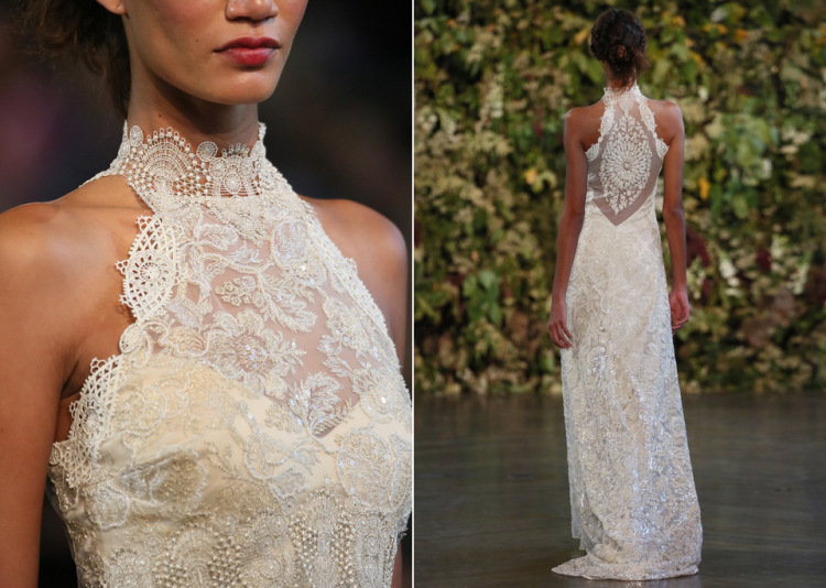 Love that back!       Gothic Angel by Claire Pettibone {via Love My Dress}