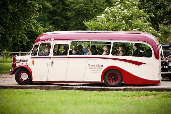 I do love a classic coach: perfectly stylish for transporting guests between ceremony and reception venues.