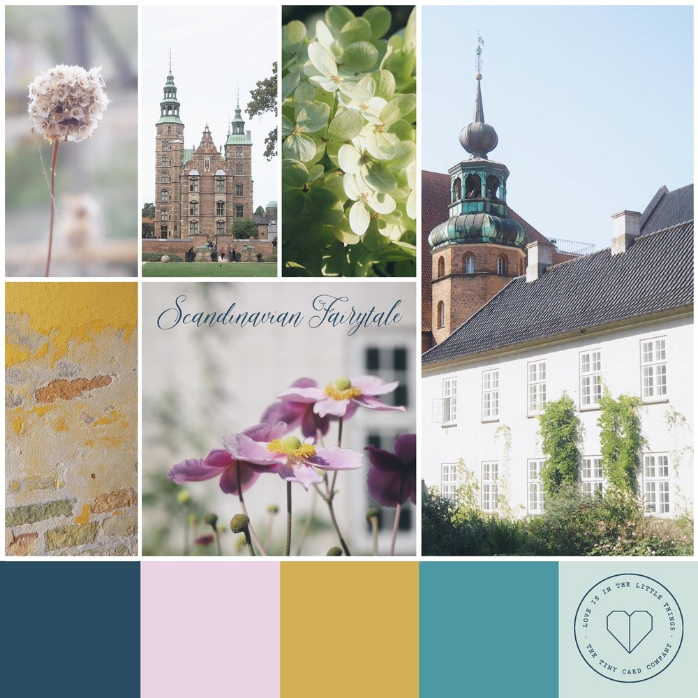 Scandinavian Fairytale Mood Board