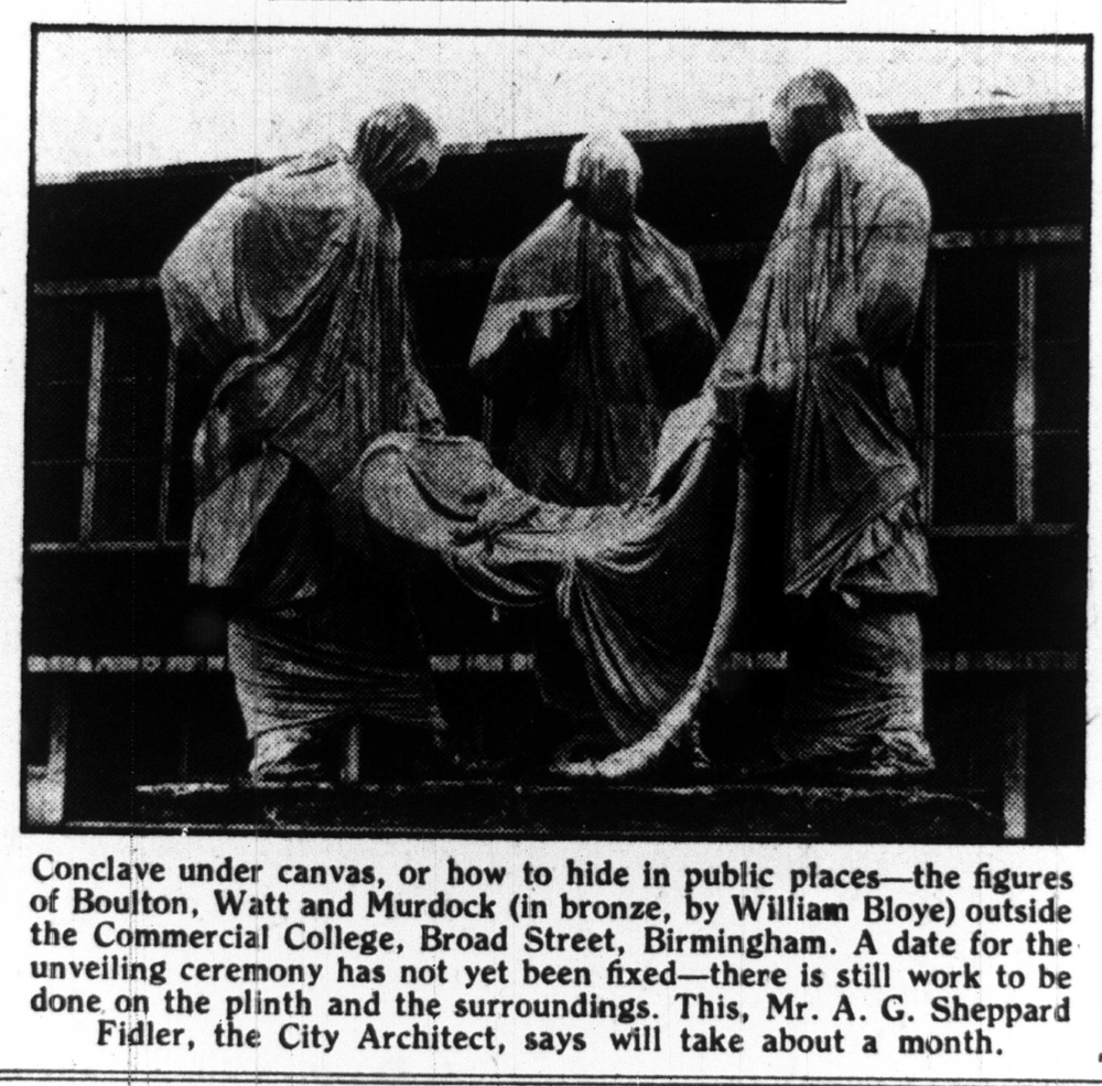 Birmingham Post article from 1956