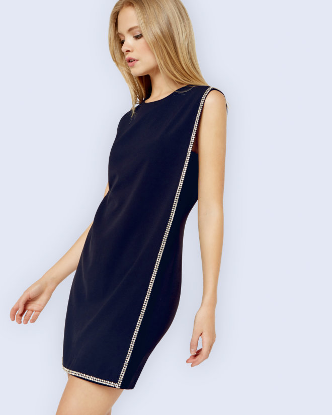 Ted Baker Double Layer Tunic Dress,