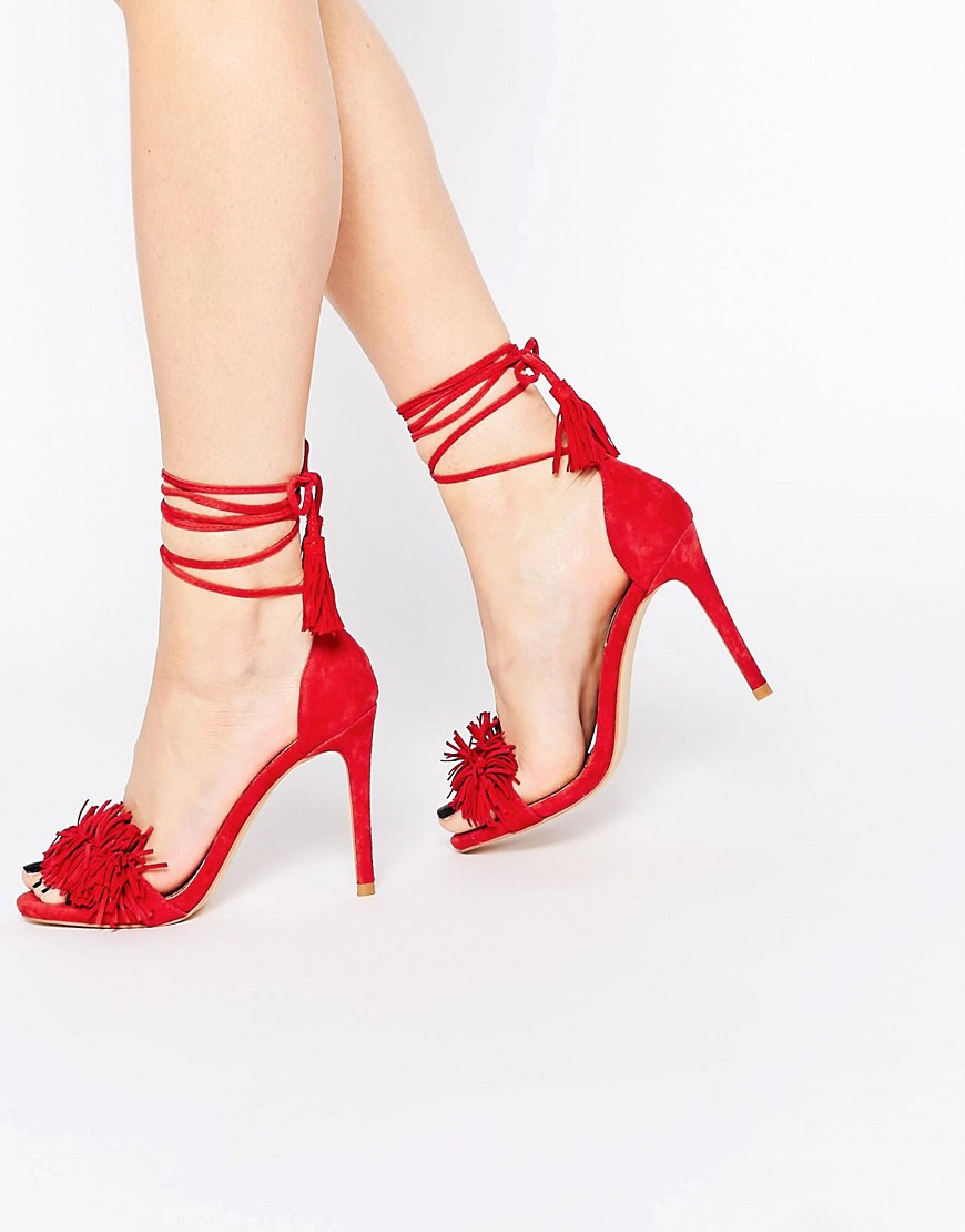 Steve Madden Red High Heels