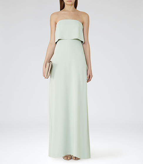 Reiss Tiered Maxi Dress