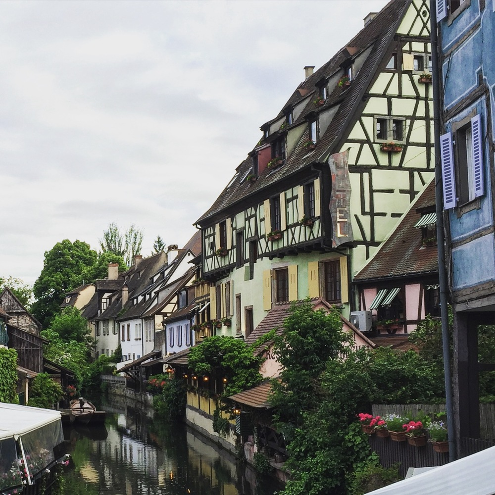 There are views like this around all of Colmar