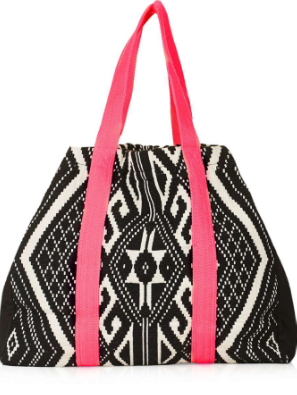 Oversized Beach Bag, Topshop, £45