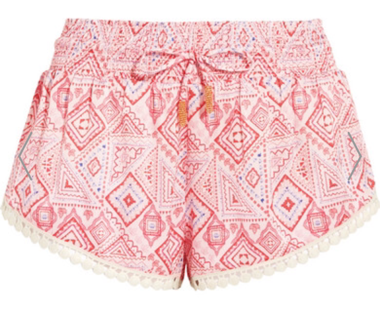 Paloma Blue  Printed Washed Silk Shorts, £120, Net A Porter
