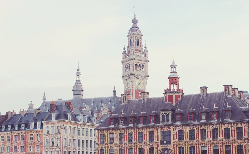 Lille's beautiful main square