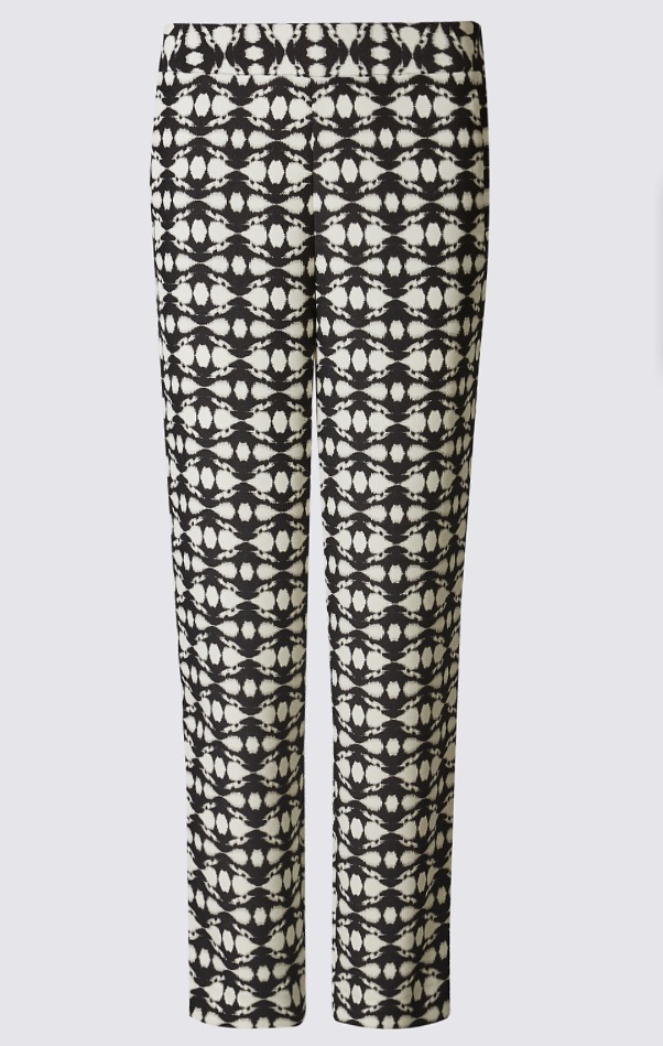 Mono Batik Print Straight Leg Trousers, £29.50   Statement trousers are far more wearable than they may initially appear. Especially when they are in black and white like this monochrome pair. For ease, I would pair them with one of the many white or black tops I have in my wardrobe. However, for the braver, they would also look great with a bright coloured top, or even a contrasting pattern. At such a fabulous price point, whatever you do with them, they make a great purchase for the upcoming Spring.