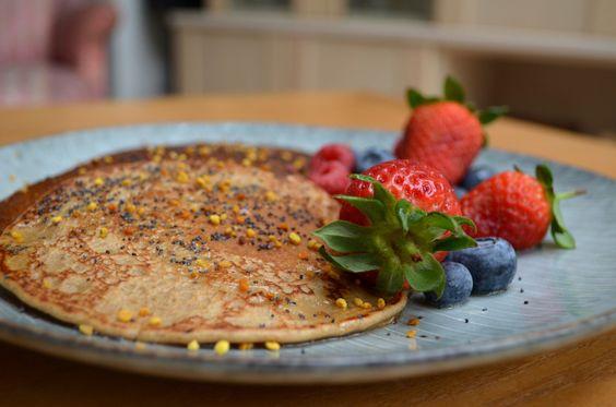 Livia's Kitchen Lemon Drizzle Pancakes