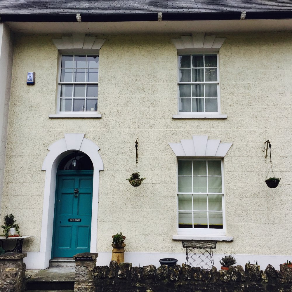 One of the many gorgeous little houses in Wedmore.