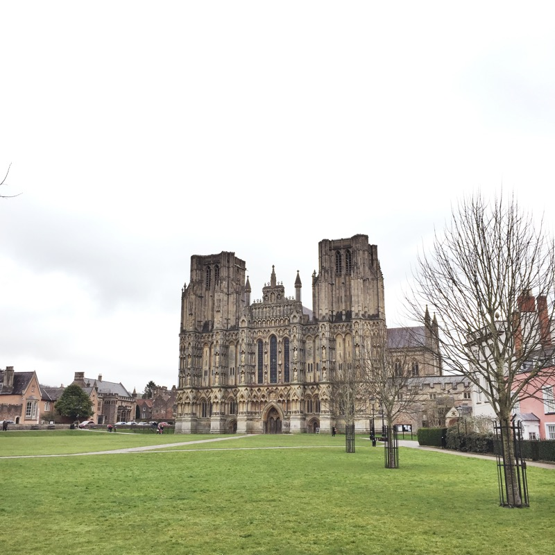 The Cathedral that gives Wells its city stature