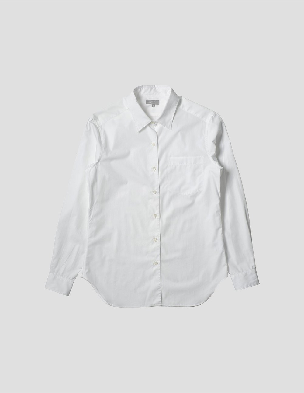 2) Cotton White Shirt Margaret Howell, Cotton Poplin Washed, £225