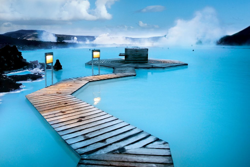 The famous Blue Lagoon, Reykjavik
