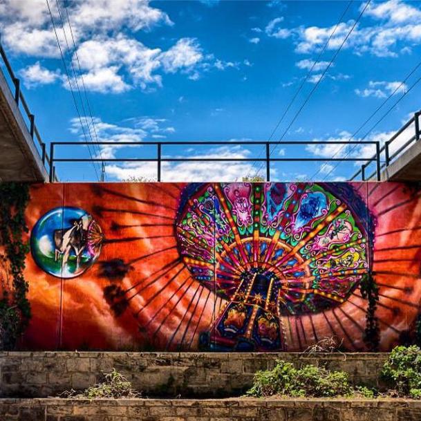 @streetsofperth mural by Straker & David Garland