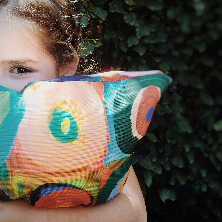 Circles cushion giving back to medical research