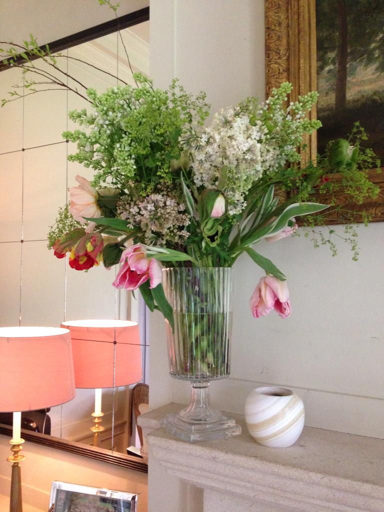 Syringa, tulips, icelandic poppies