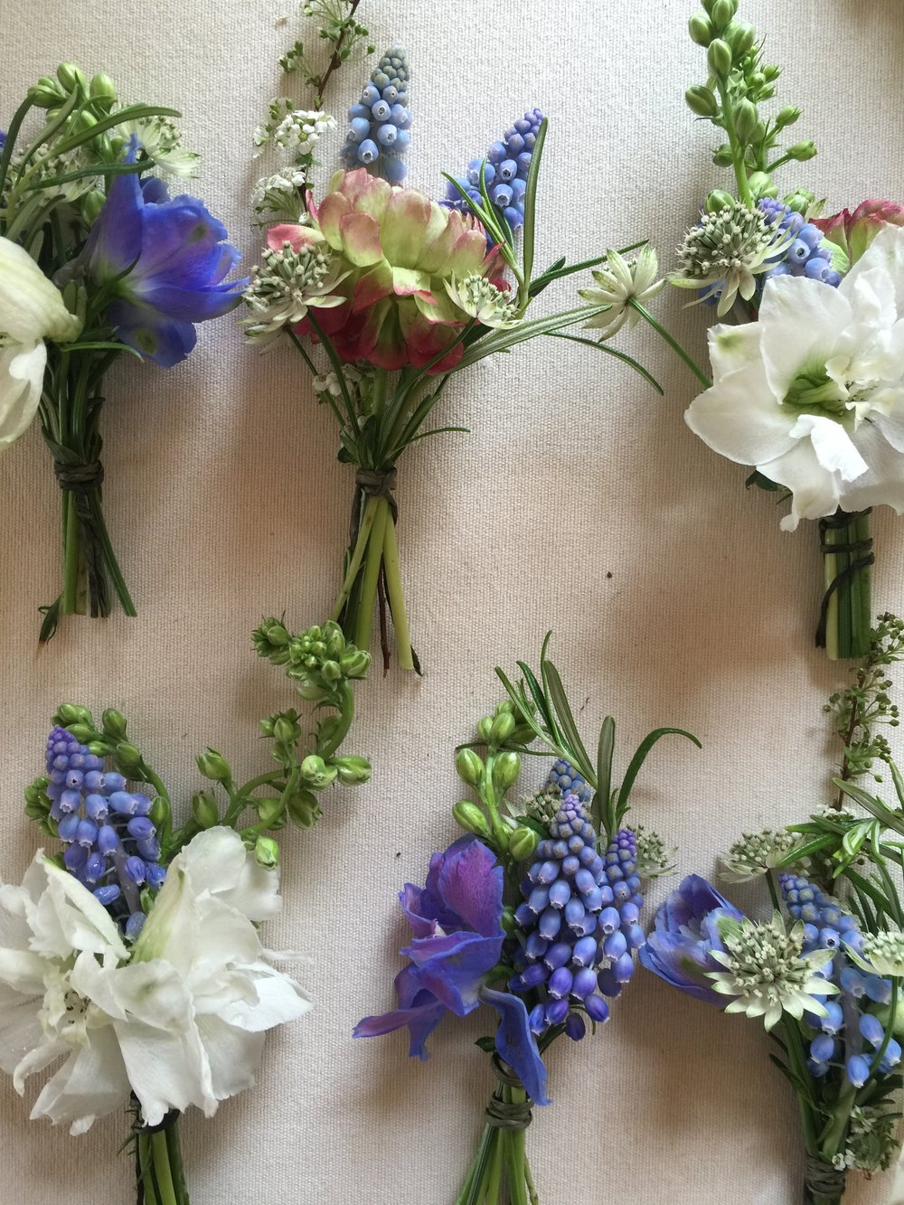 Spring Corsages