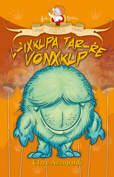 L-ixkupa tar-Re Vonxkup (illustrated by Mark Scicluna)