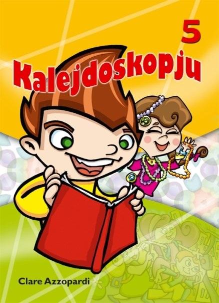 Kalejdoskopju 5 (illustrated by Nicole Diacono)