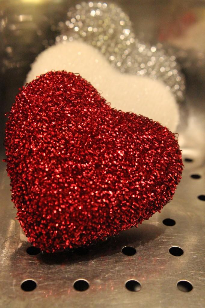 Valentine pan scourers!