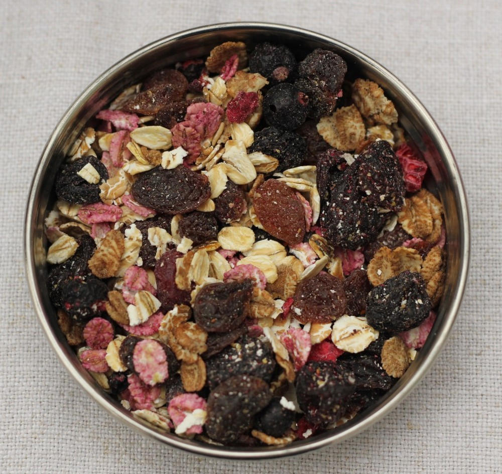 Berries and Cherries Muesli