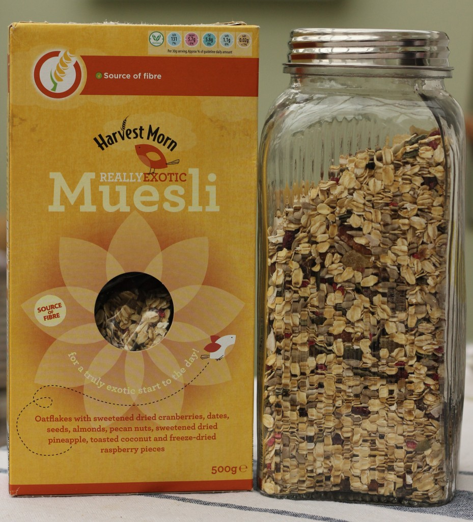 Aldi's Really Exotic Muesli