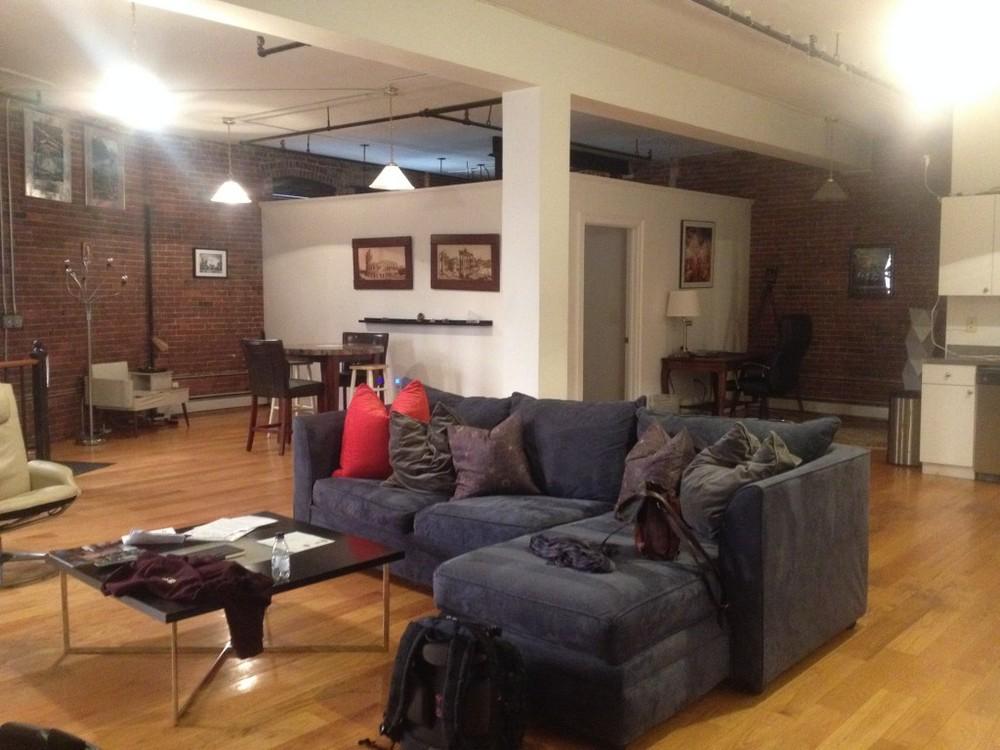 Our loft apartment