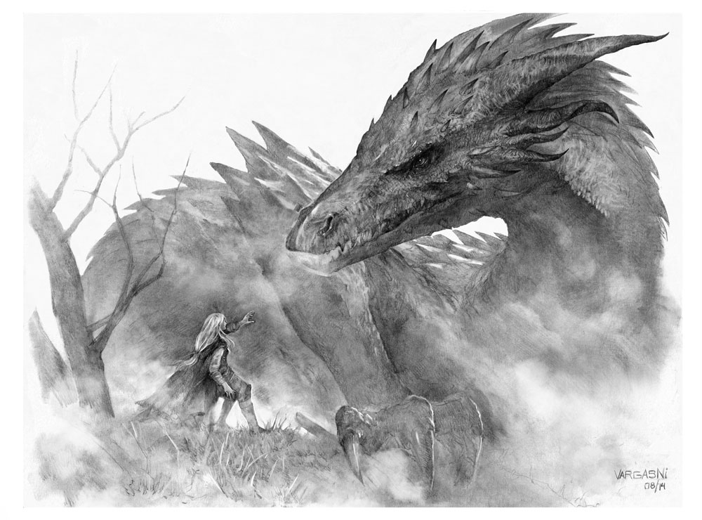Glaurung and Niennor