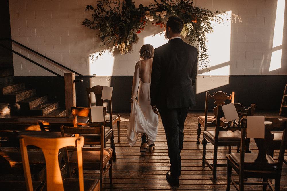 Union/Pine Portland trendy wedding
