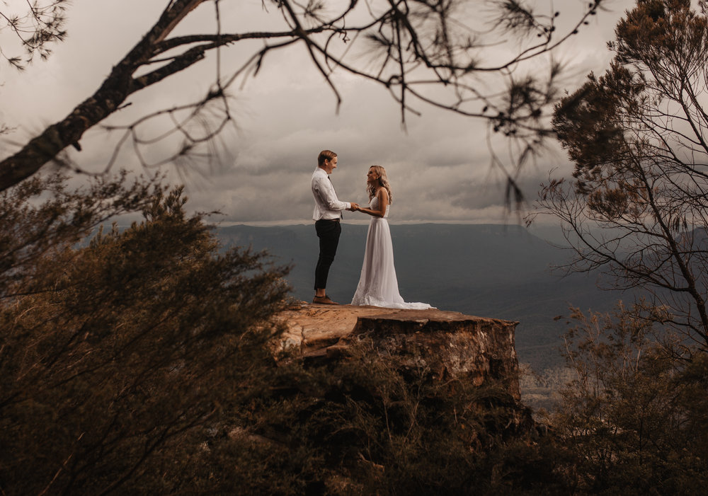 Blue Mountains Australia wedding