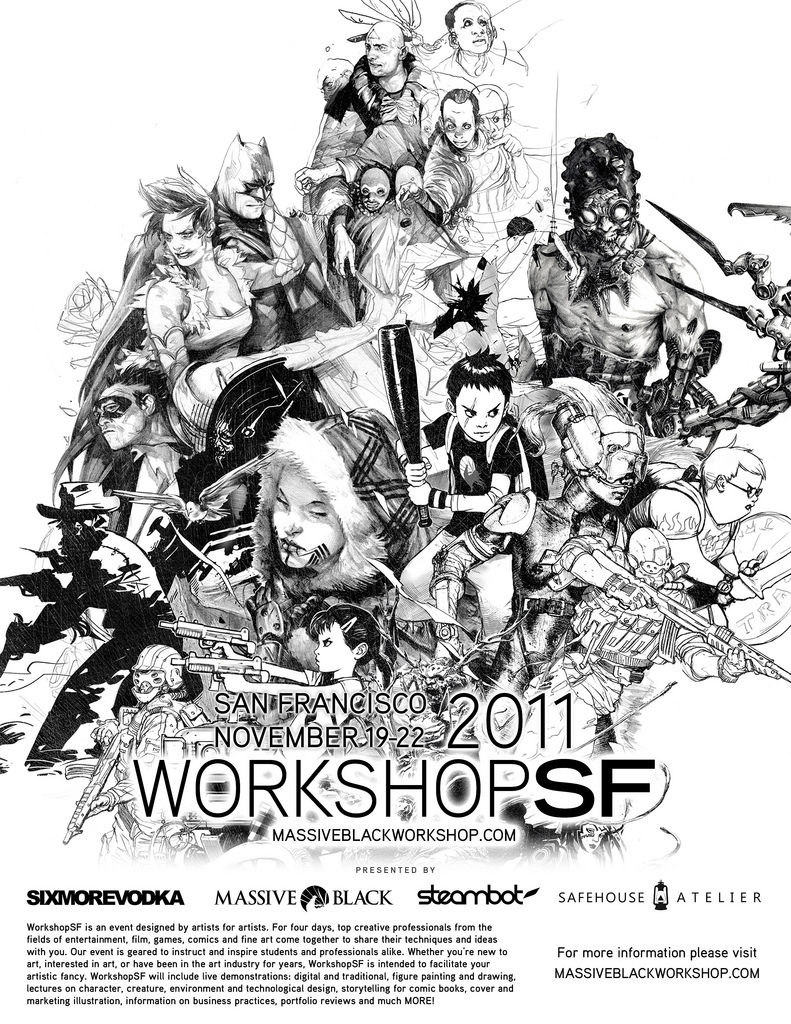 Cool poster for the SF Workshop. I'm starting to get really excited. See more and download high res files here
