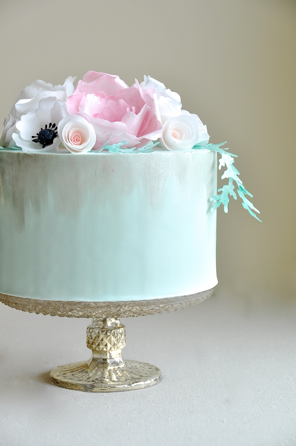 Romantic Wedding Shower Cake