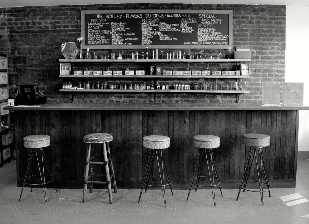 The Henley Vaporium in New York City's trendy SoHo district