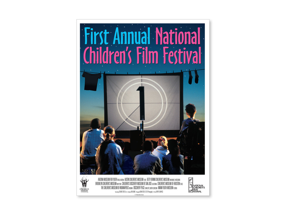 Poster for the National Children's Film Festival