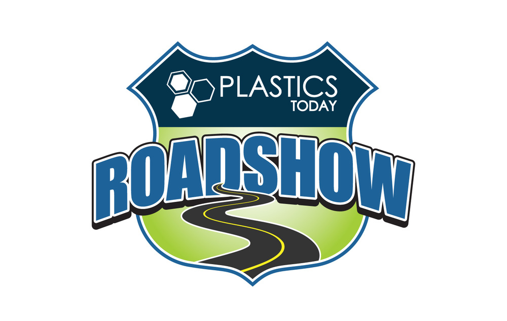 Logo Design for Plastics Industry Podcast. Designed at UBM Canon.