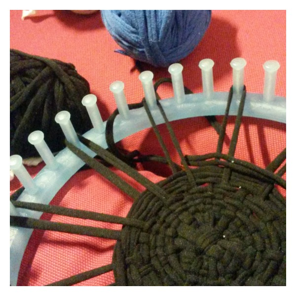 Weaving a Potholder Try this tshirt yarn making tutorial and this plaited coaster making tutorial