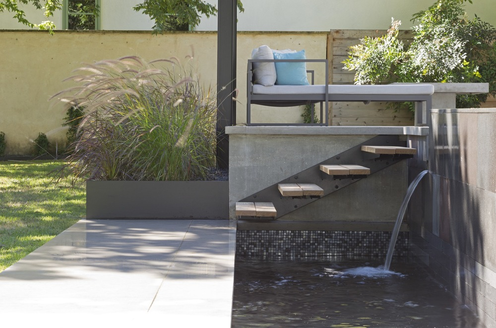 Floating Stairs...On A Budget U2014 Modern Design+build U0026 Modern Pools, Inc. |  Pool Design, Construction U0026 Consulting Since 1999