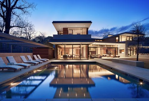 Pool modern  modern design+build & modern pools, inc. | pool design ...