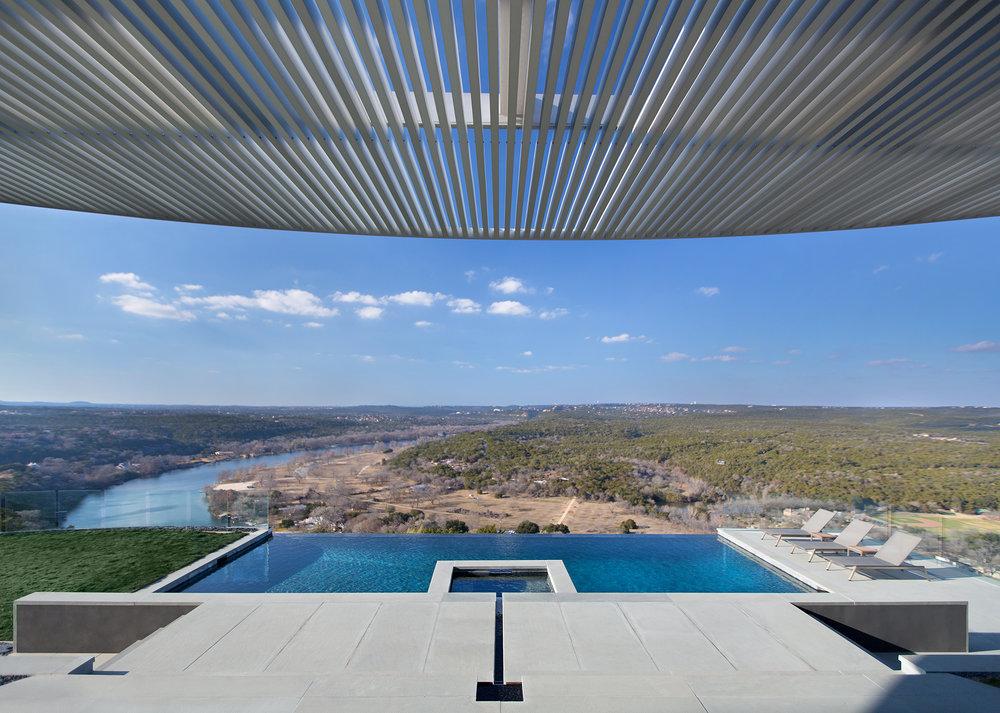 Pool modern  Hilltop Pool — modern design+build & modern pools, inc. | pool ...